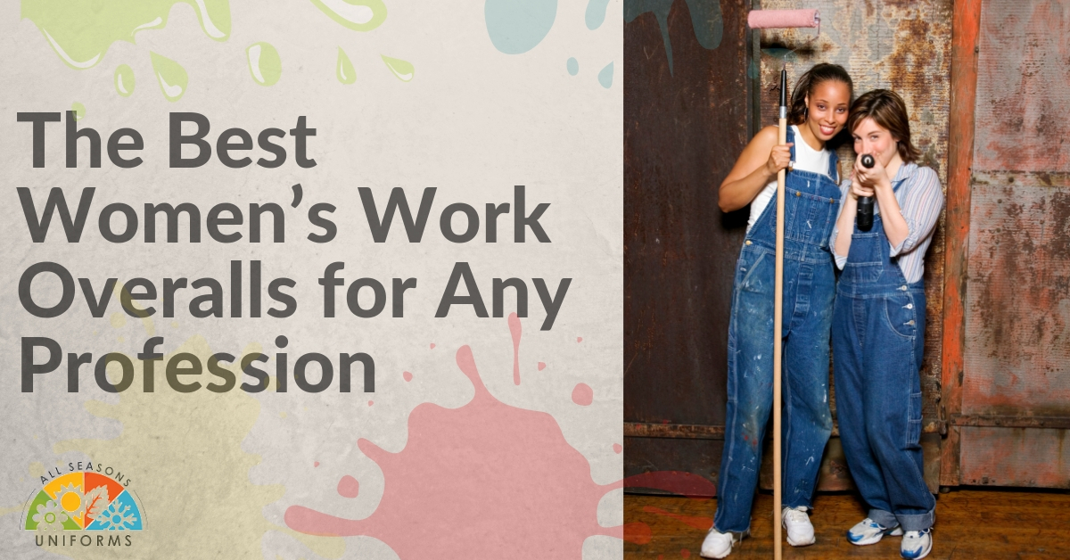 The Best Women's Work Overalls for Any Profession