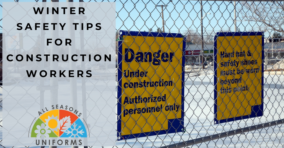 Danger Slippery Surface! – Winter Safety Tips for Construction Workers